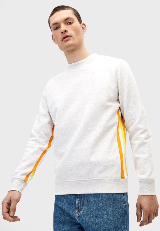 Side Stripe Sweatshirt