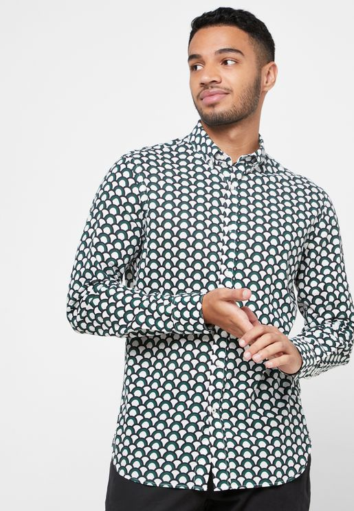 AOP Slim Fit Shirt