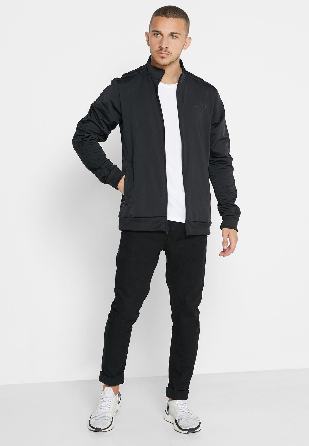 Essential 3 Stripe Track Jacket