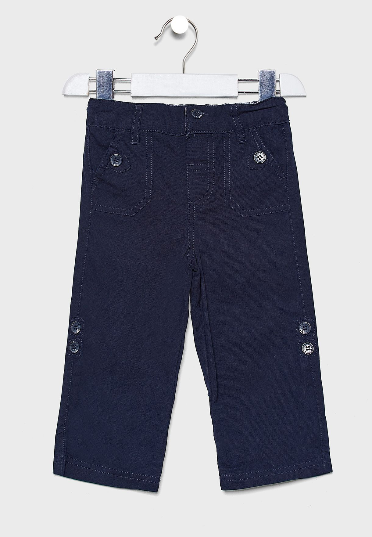 Kids Twill Turn-Up Trouser