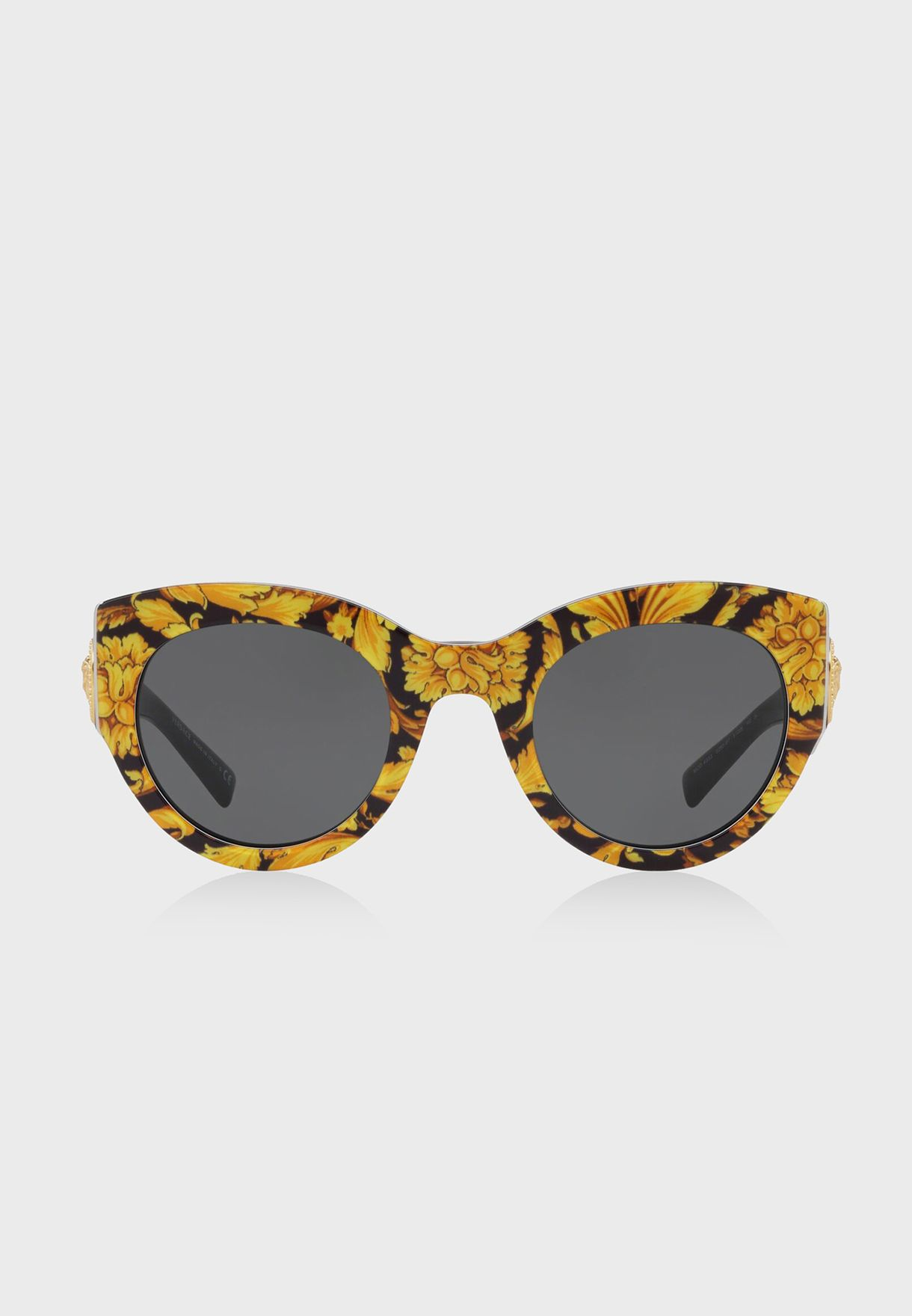 263087c4ee2 Shop Versace prints Floral Baroque Sunglasses 8.05367E+12 for Women in Saudi  - 74736AC76FAP