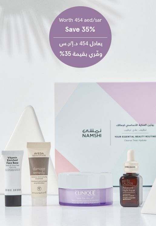 Your Essential Beauty Routine worth 454aed/sar