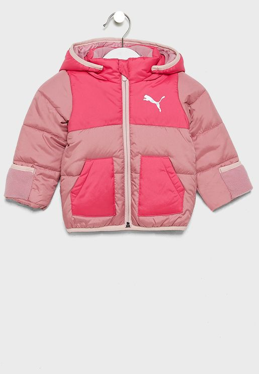 Infant Minicats Padded Jacket