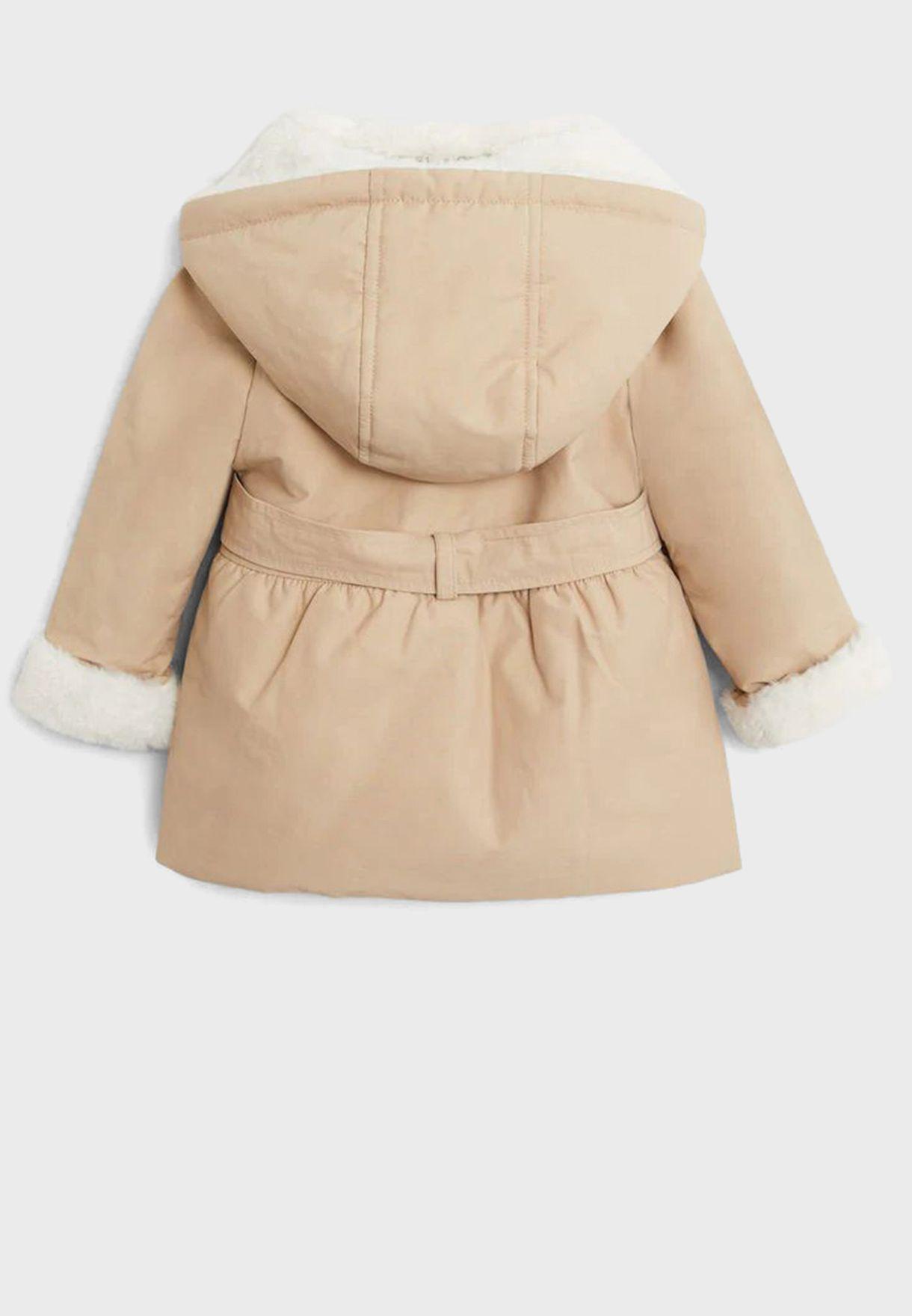 Infant Knot Detail Body Warmer Jacket