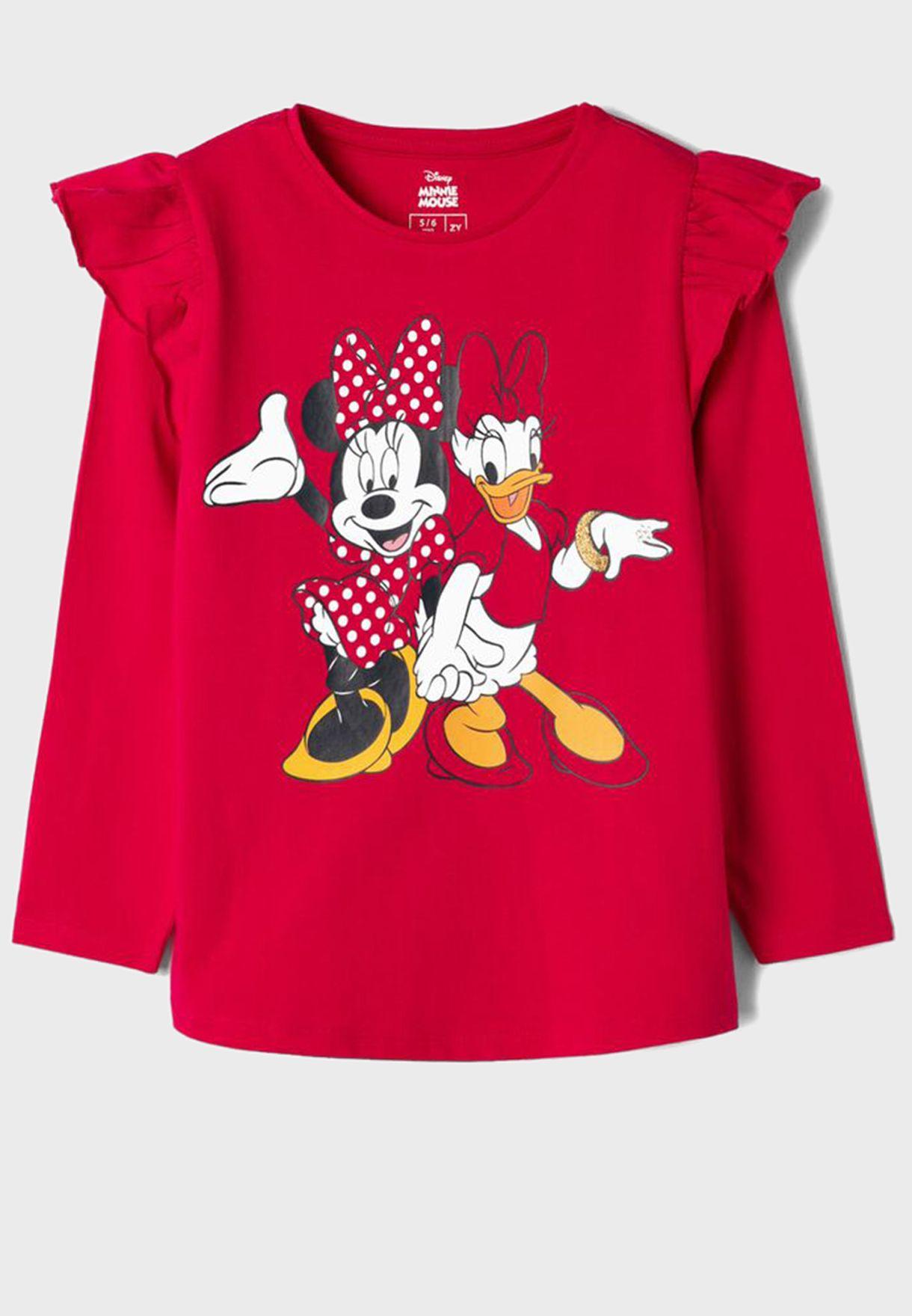 Kids Minnie & Daisy Top