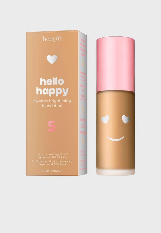 Hello Happy Flawless Brightening Foundation 05