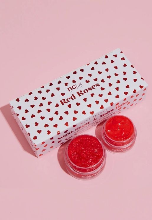 Balm & Scrub Duo - Red Roses