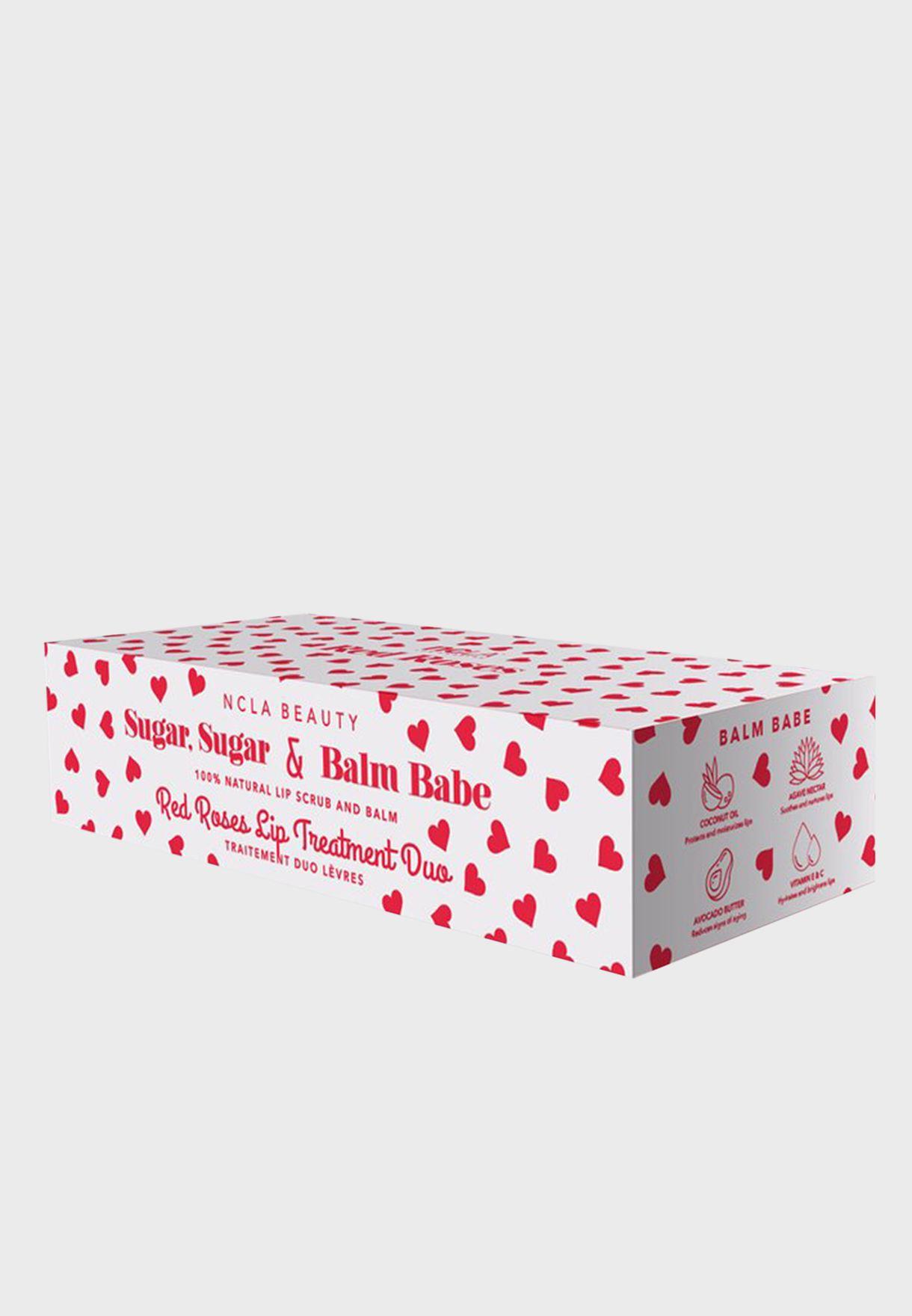 Balm & Scrub Duo - Red Roses