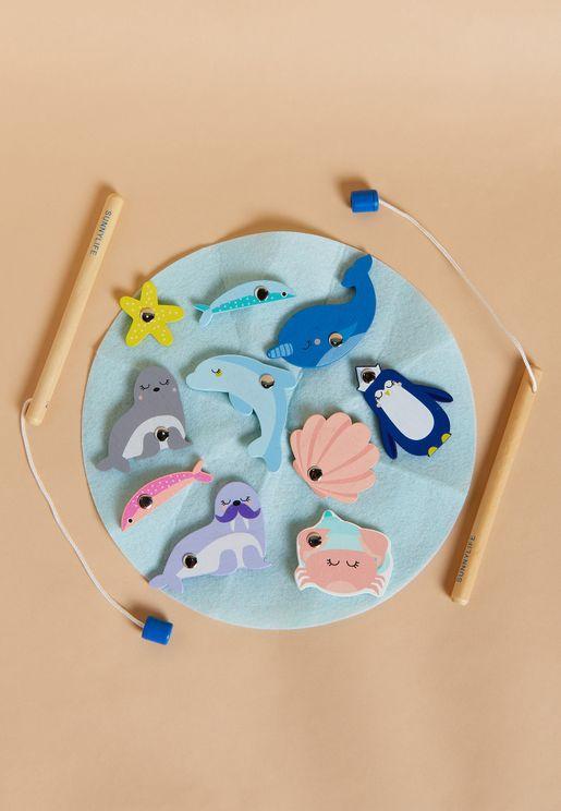 Explorer Fishing Bath Toy