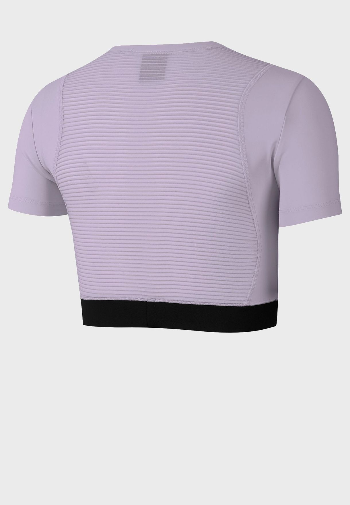 Buy Nike Purple Aero Adapt Cropped Top For Women, Uae 72704at76ycp