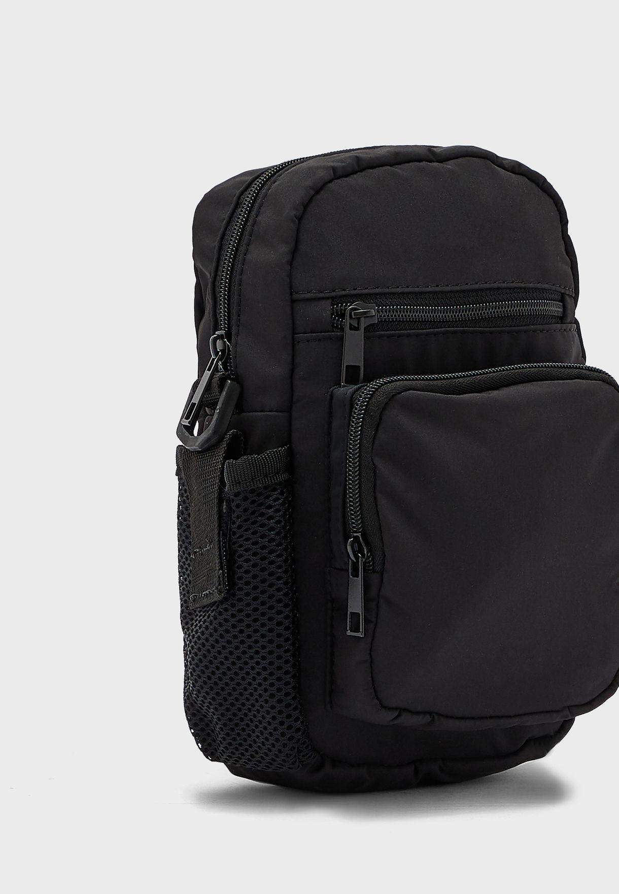 Zip Through Messenger Bag