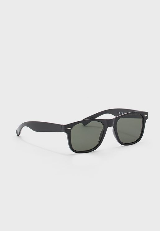 Shiny Wayfarer Sunglasses