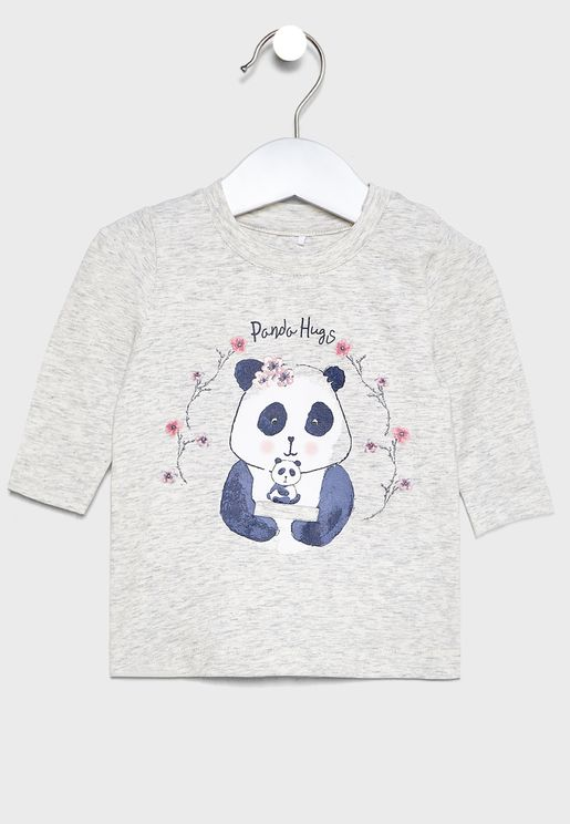 Infant Panda Hugs T-Shirt