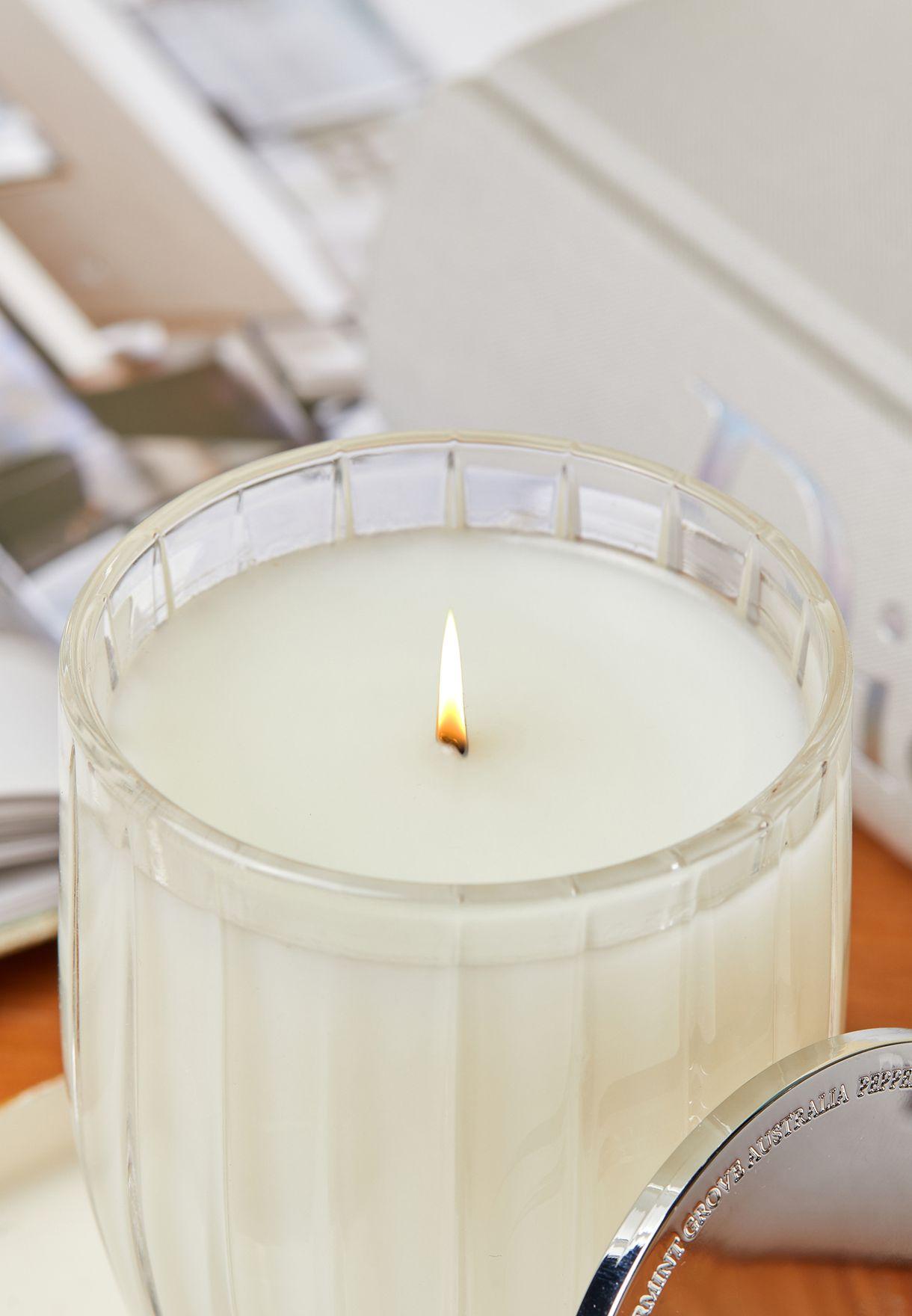 شمعة عطرية 200 غم - باتشولي وبرغموت