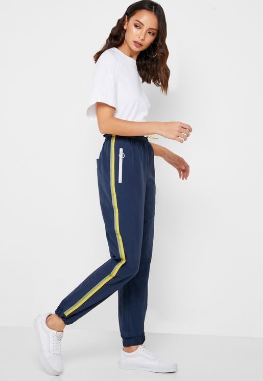 edde0c15ad5 Side Striped Jogger Pants