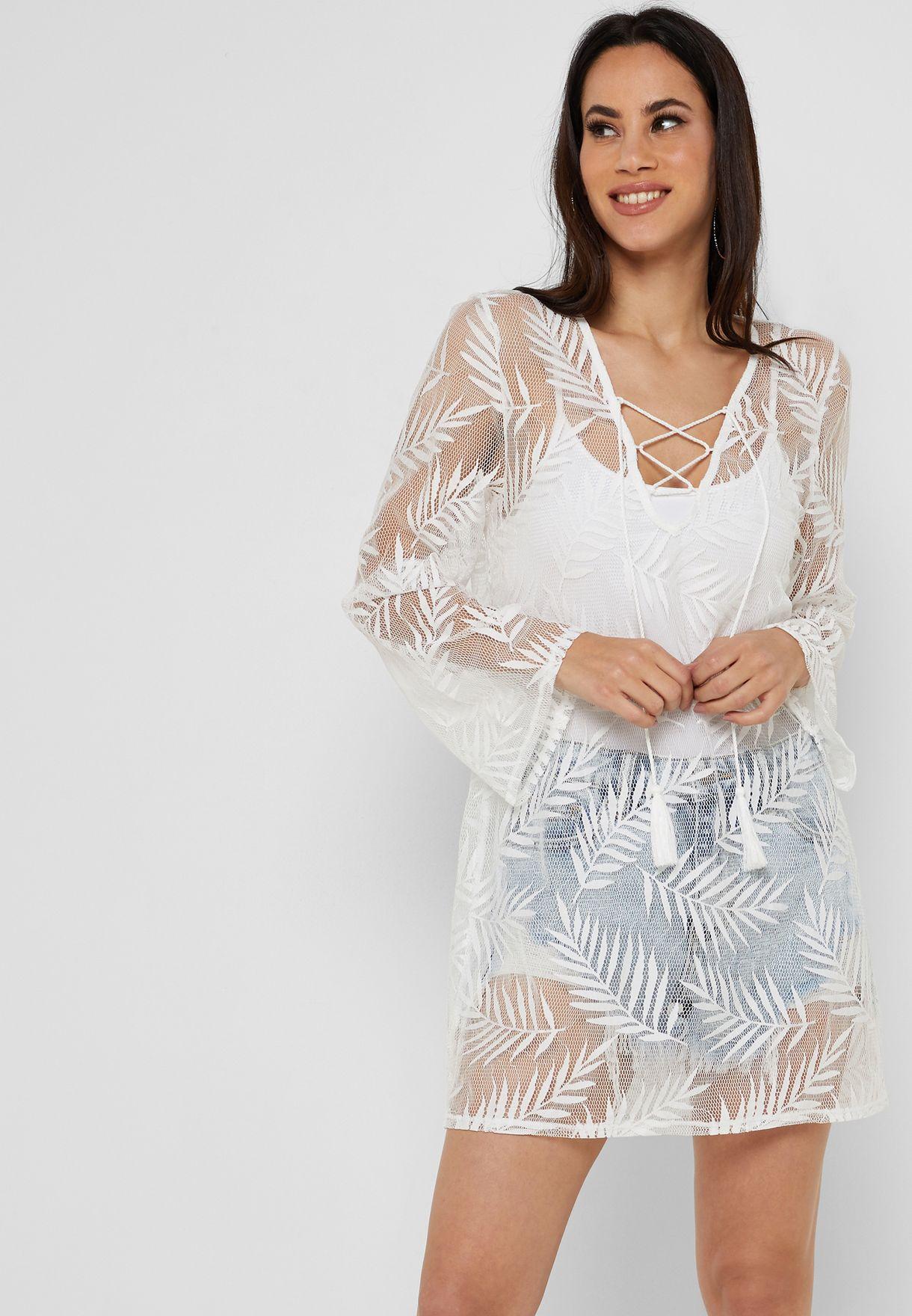 f30e8cae7d2d8 تسوق فستان بحر كروشيه شفاف ماركة نيو لوك لون أبيض 609631210 في ...