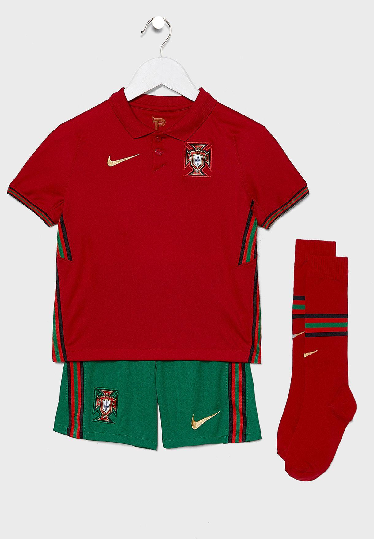 Kids Portugal Stadium Home Kit