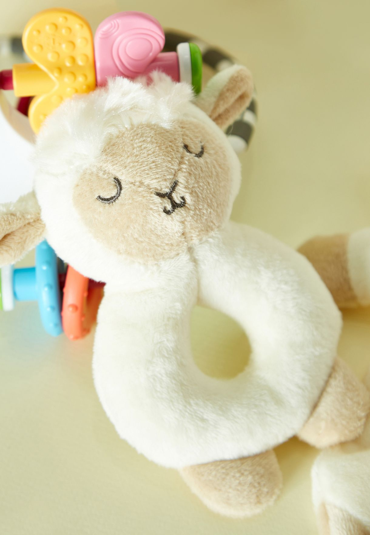 Baa Baa Lamb Comforter And Rattle Gift Set