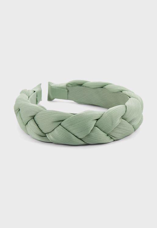 Silky Plaited Headbands