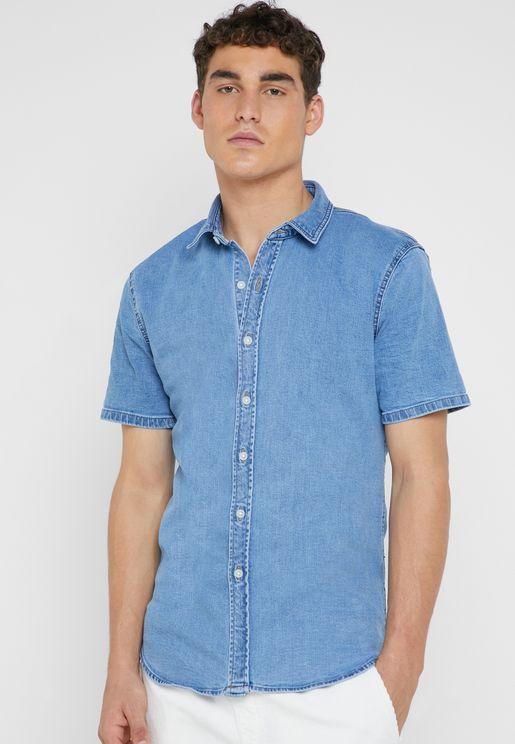 Stretchable Denim Shirt