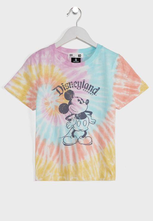 Youth Rainbow Tie Dye T-Shirt