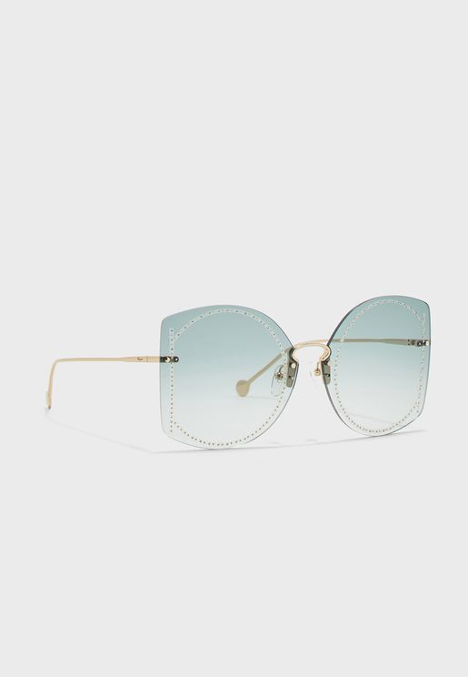 SF196SR Oversized Sunglasses