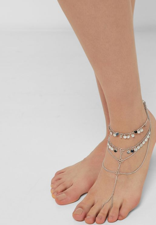 Double Layer Anklet