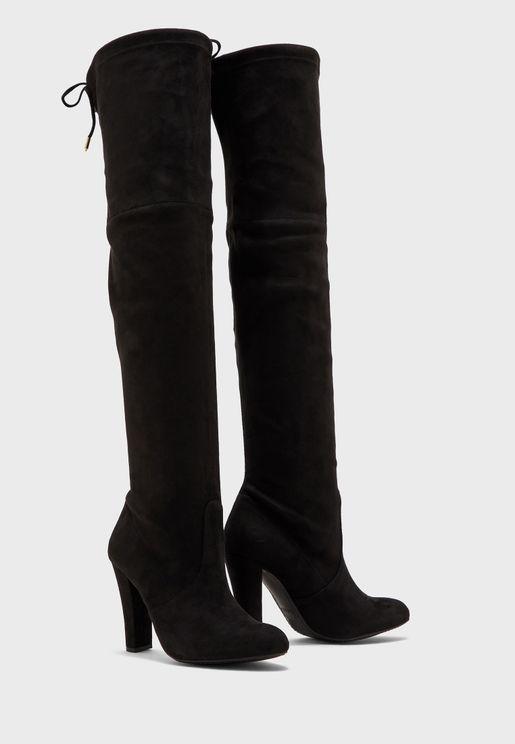 Gorgeous High Heel Knee Boot