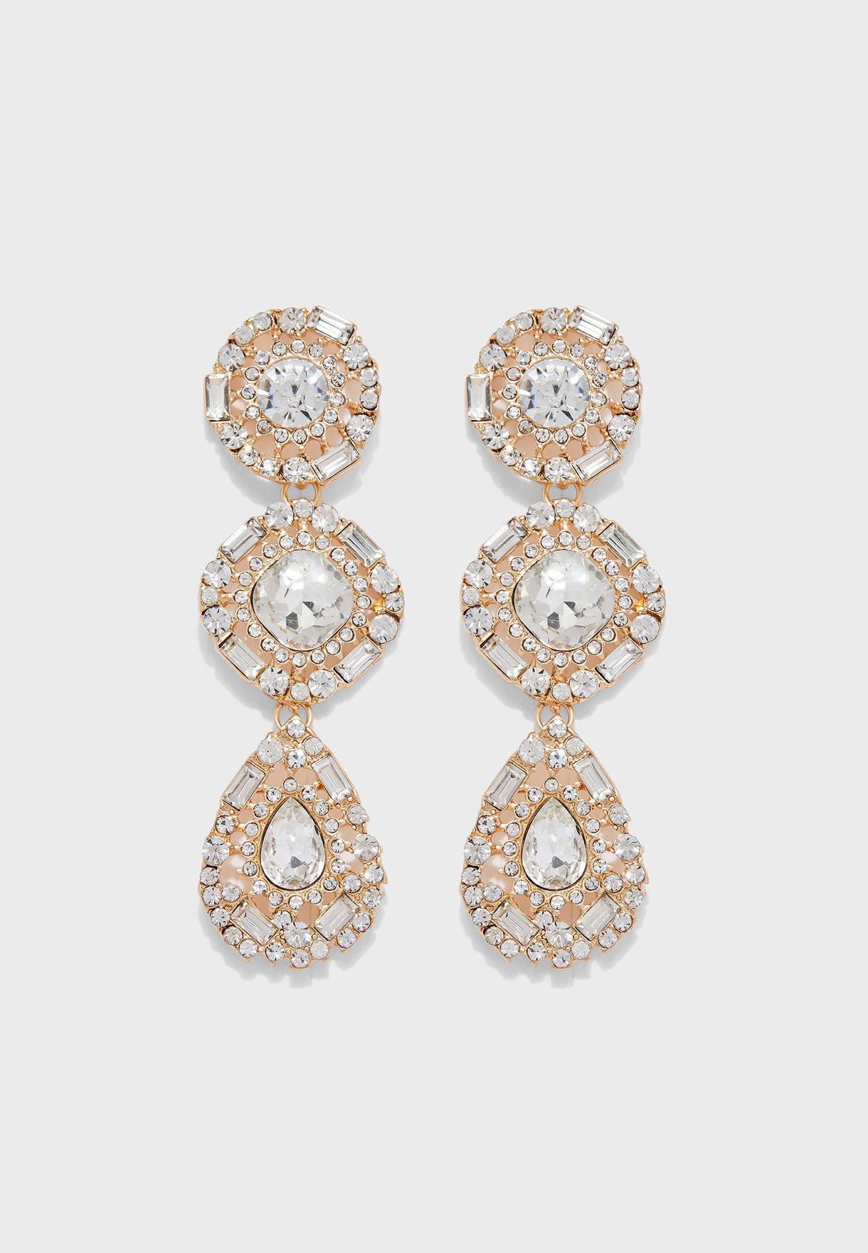 Queen Drop Earrings