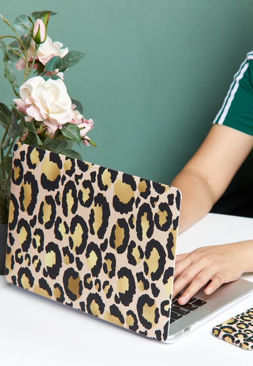 13' Air Retina Leopard Macbook Case
