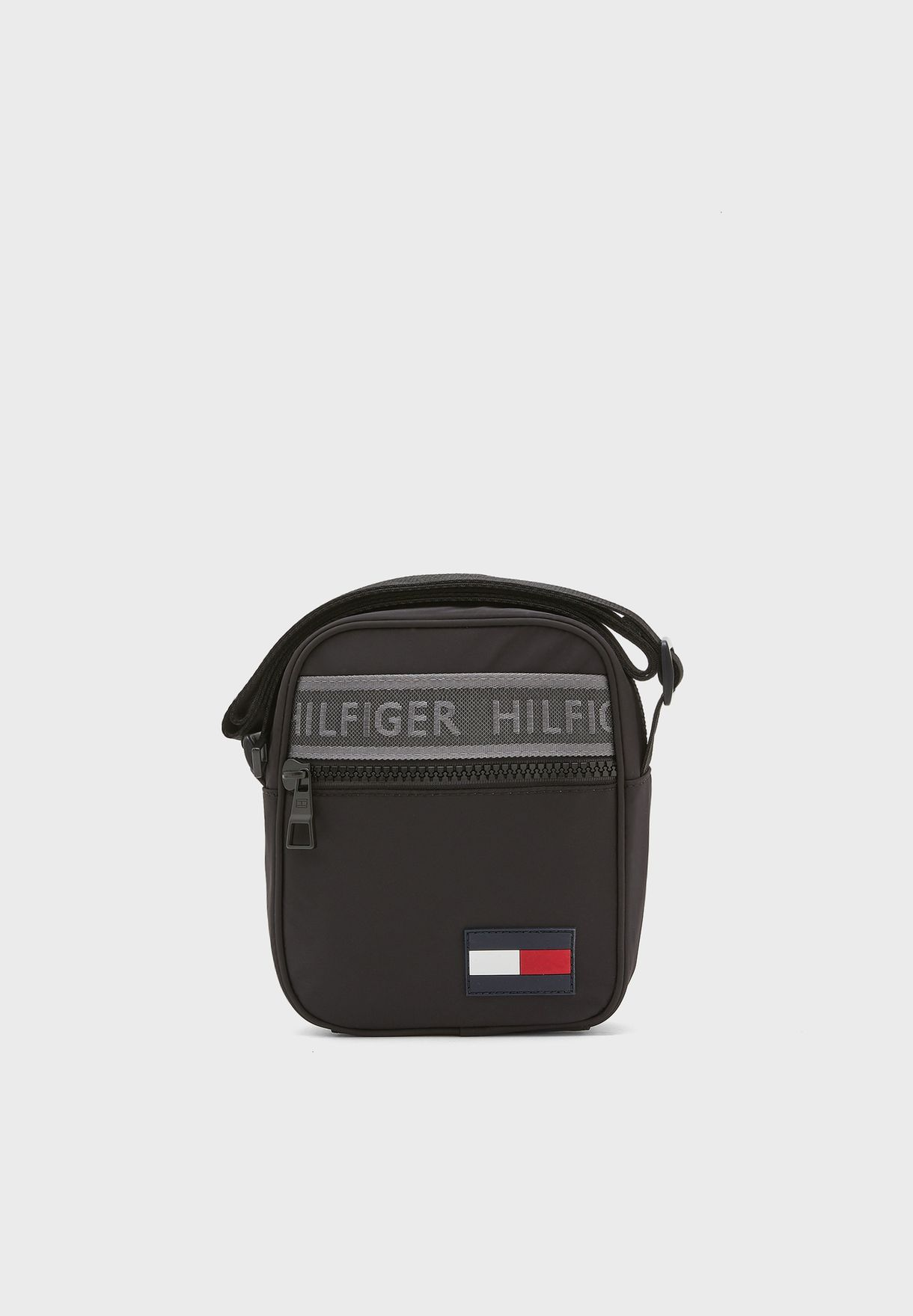Logo Stripe  Mini Messenger Bag