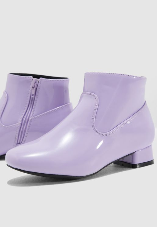 Youth Leather Ankle Boot