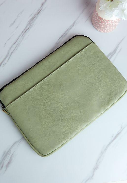 13' Gum Leaf Core Laptop Cover