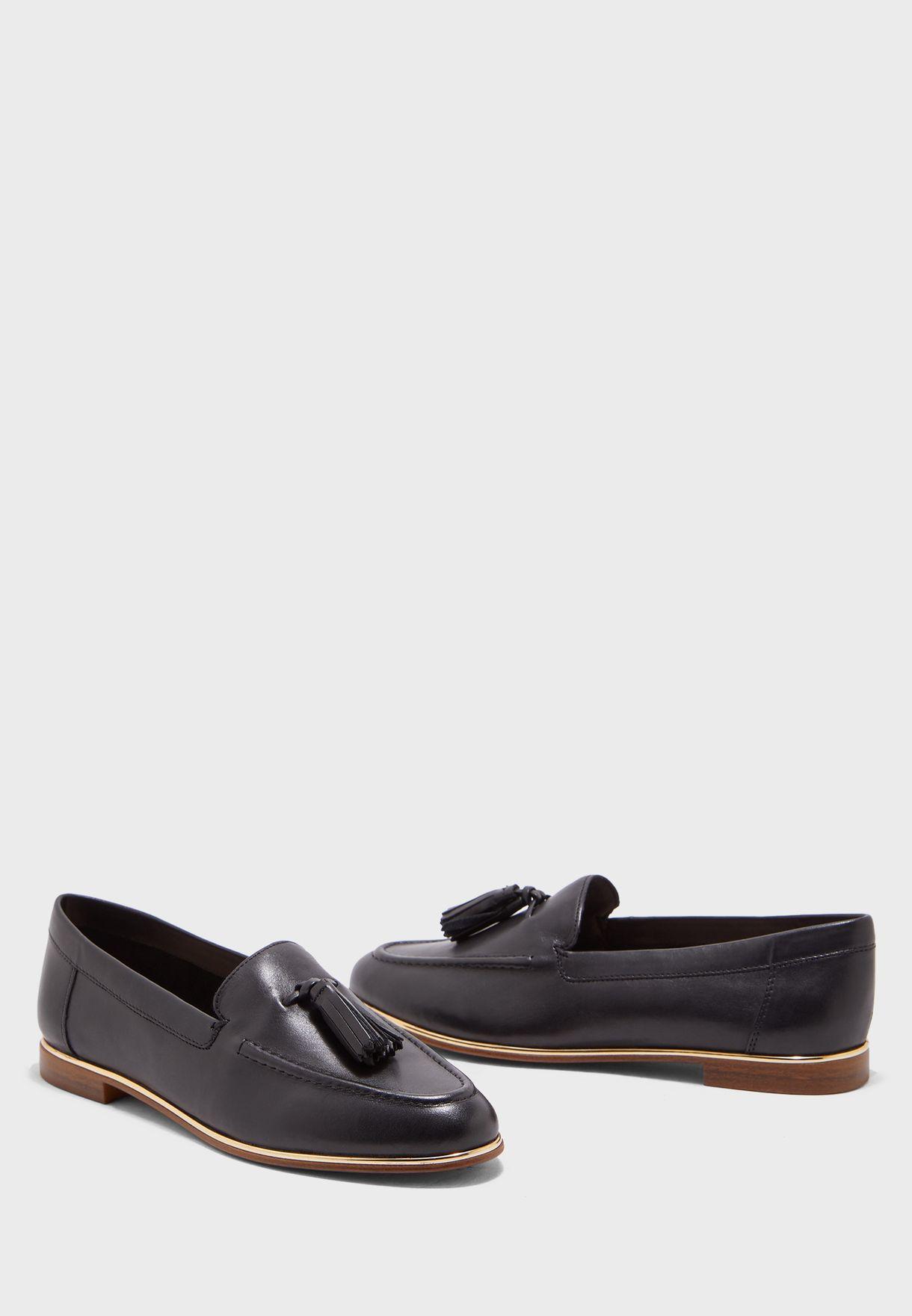 حذاء جلد اصلي سهل الارتدء