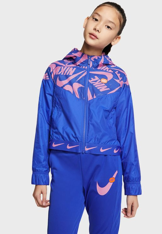 Youth Nsw Windrunner Jacket