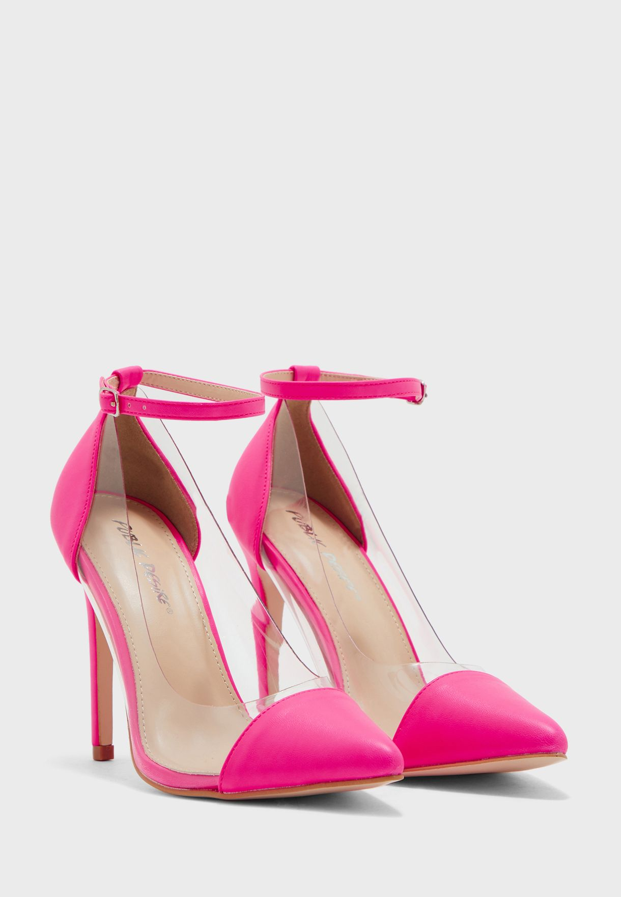 Debut Ankle Strap Pump