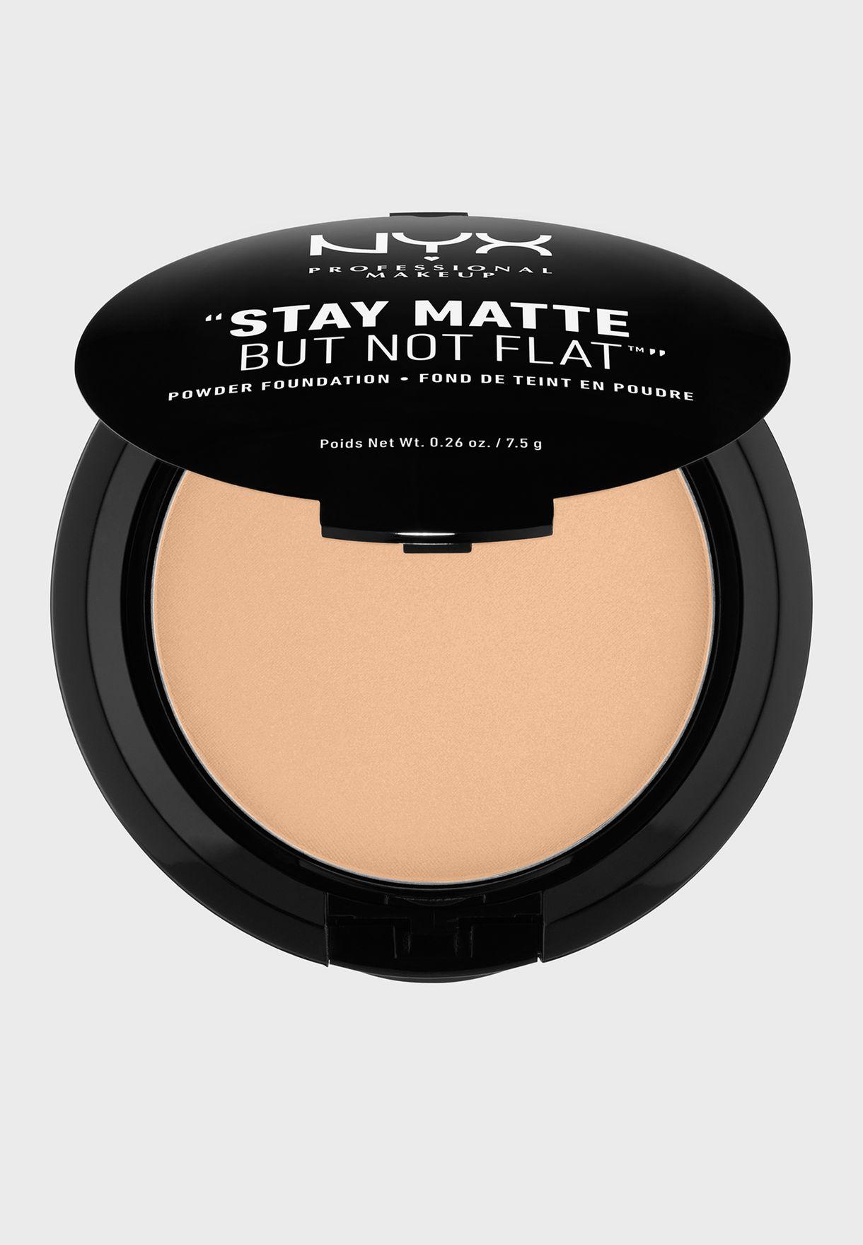 Stay Matte Powder Foundation- Medium Beige