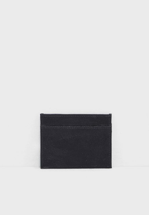 Pebbled Card Holder
