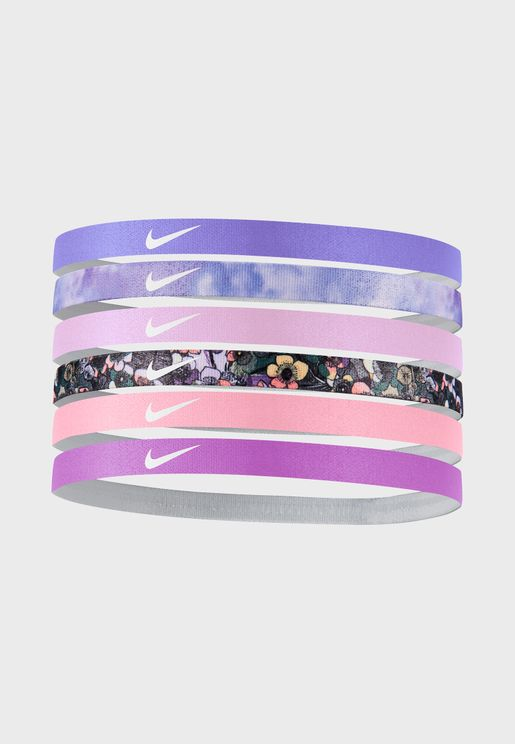 6 Pack Printed Headbands