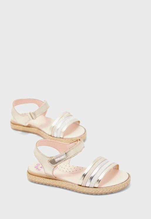 Infant Multi Strap Sandal