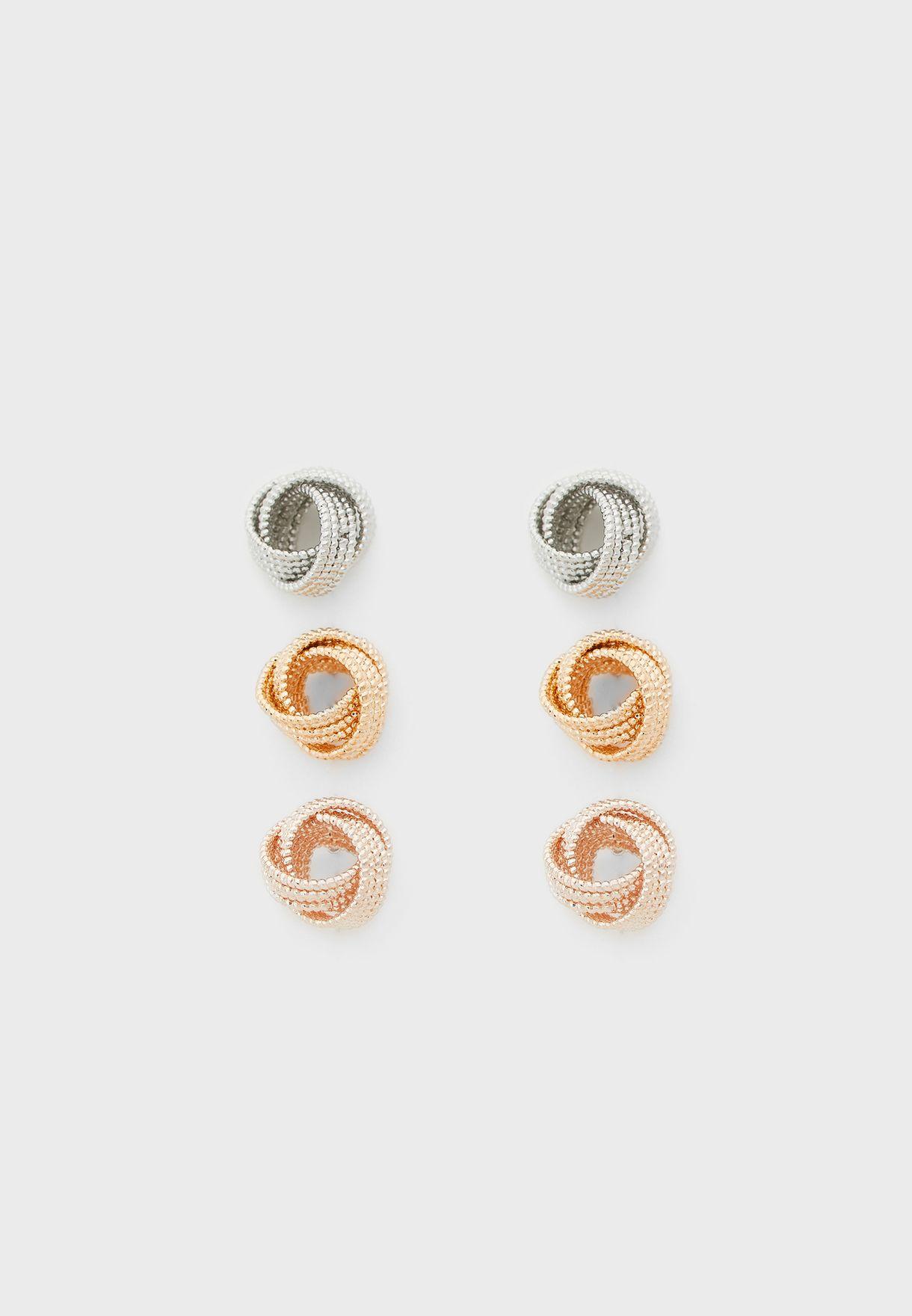 Jeraevian Earrings Set