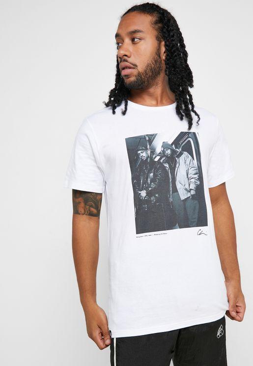 Stockholm Gang Starr Crew Neck T-Shirt