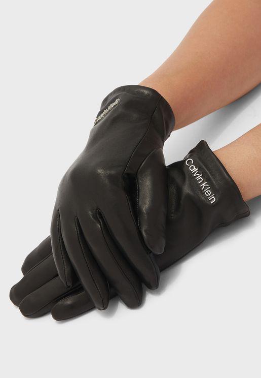 Logo Plain Gloves