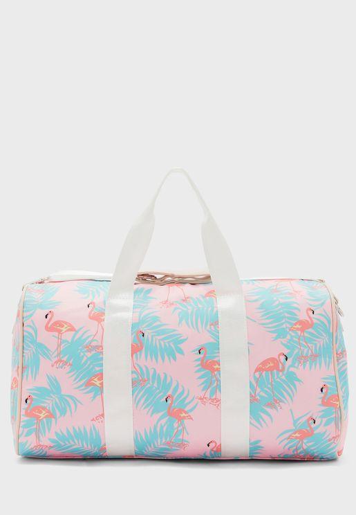 Flamingo Duffel