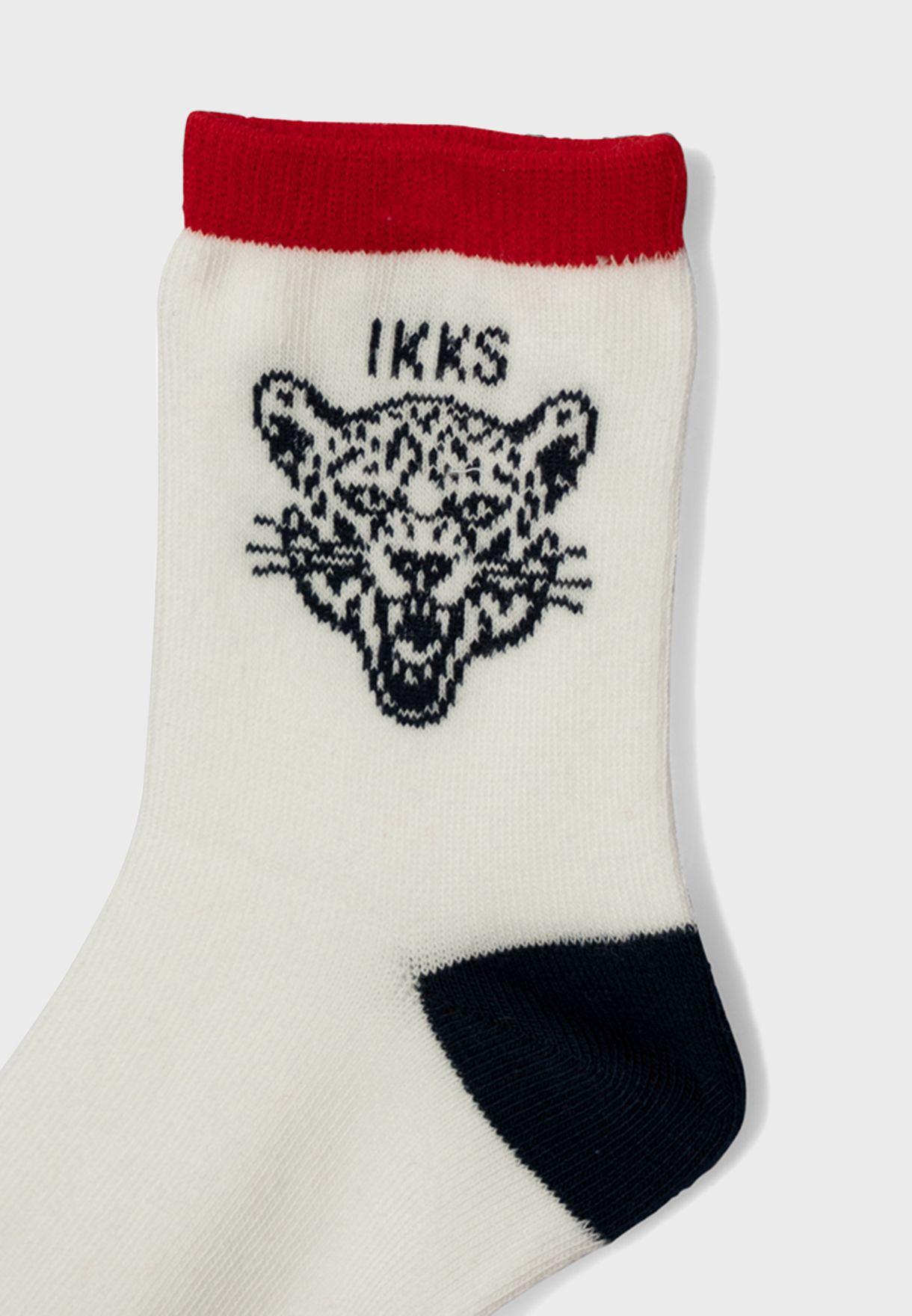 Kids 3 Pack Socks