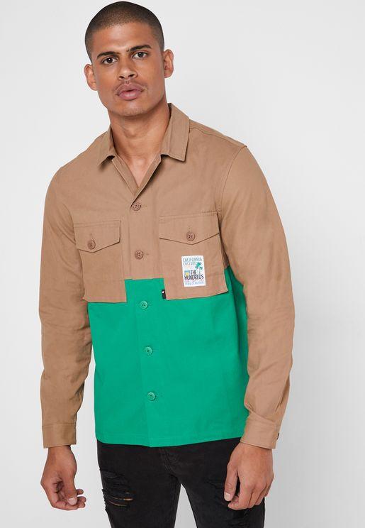 قميص من لونين