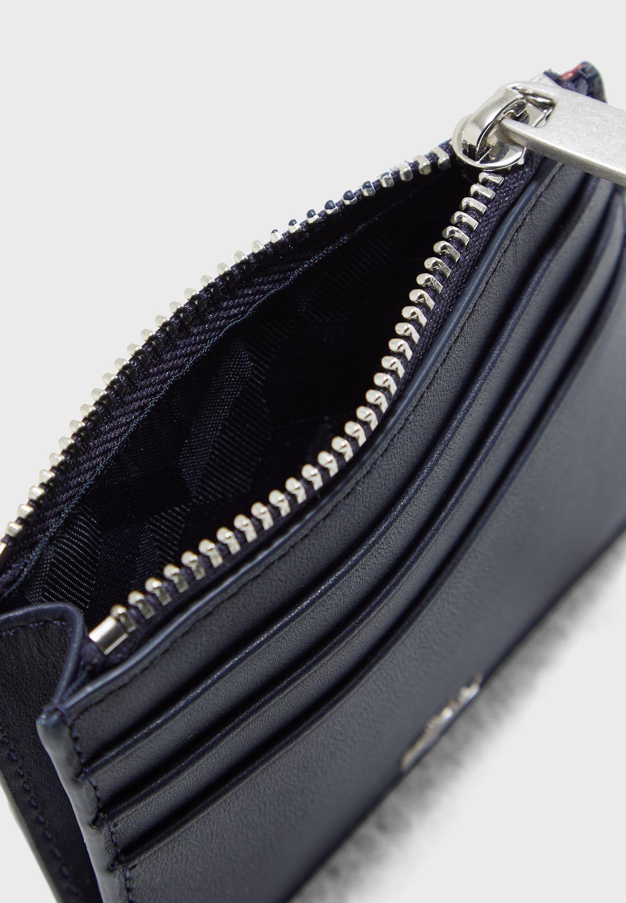 Stripe Detail Card Holder