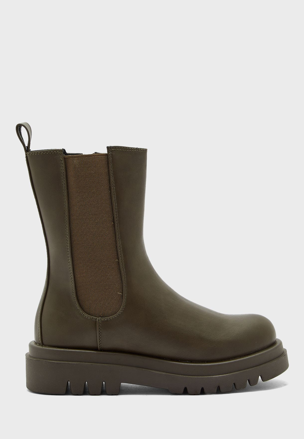 Pull On Ankle Boots