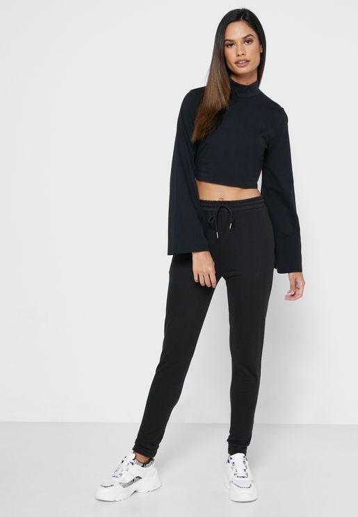 Lounge Crop Top & Pants