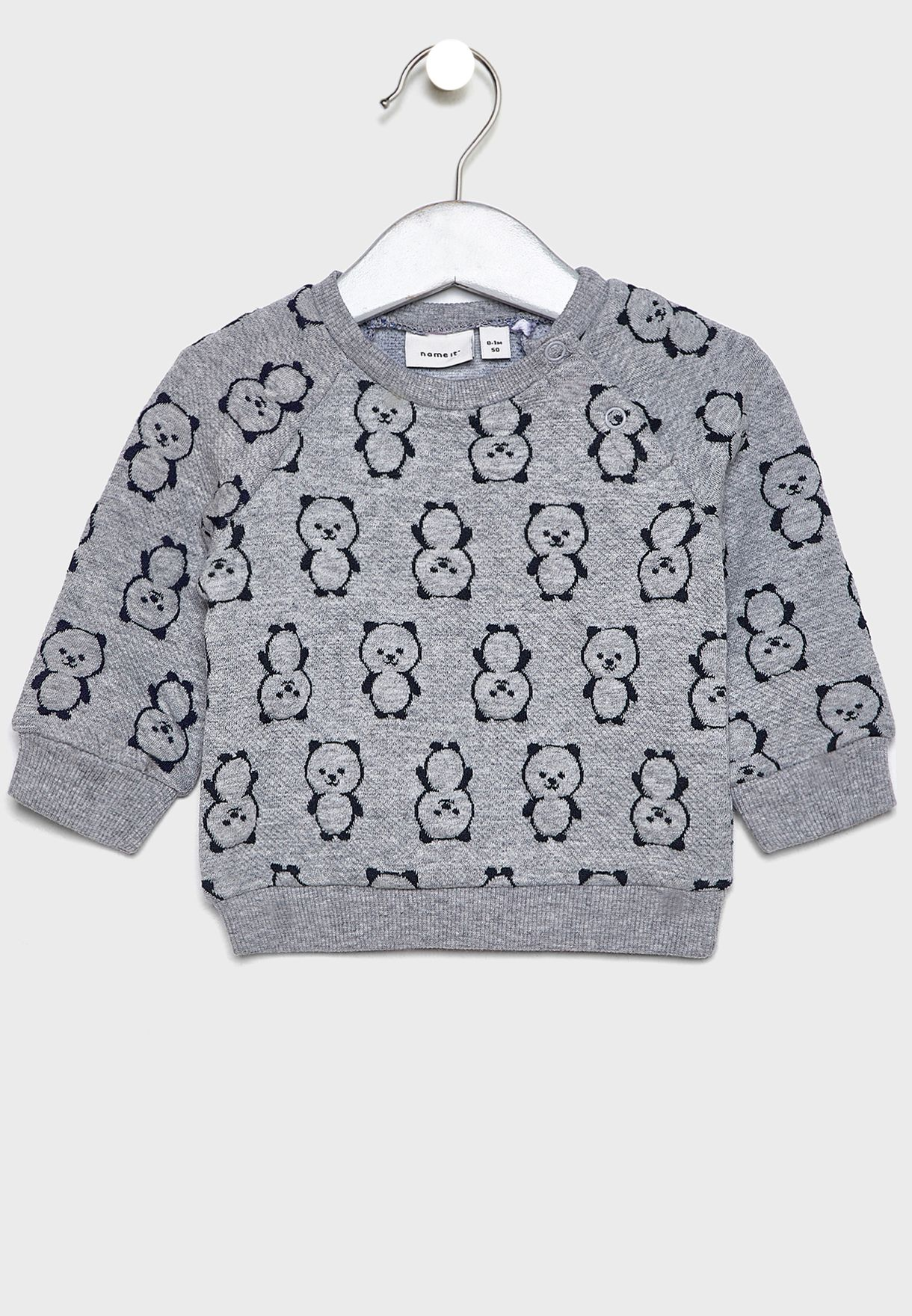 Infant Printed Sweater